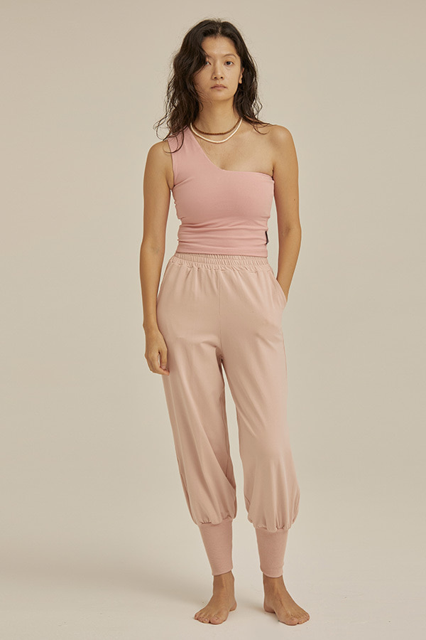 Cotton Sweatpants-Pink Salt